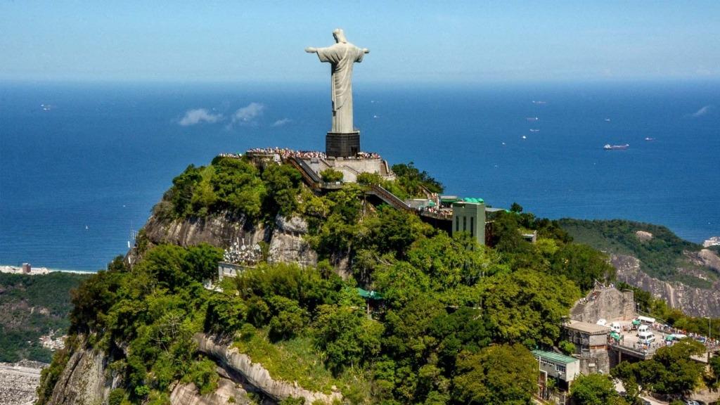 La estatua del Cristo Redentor