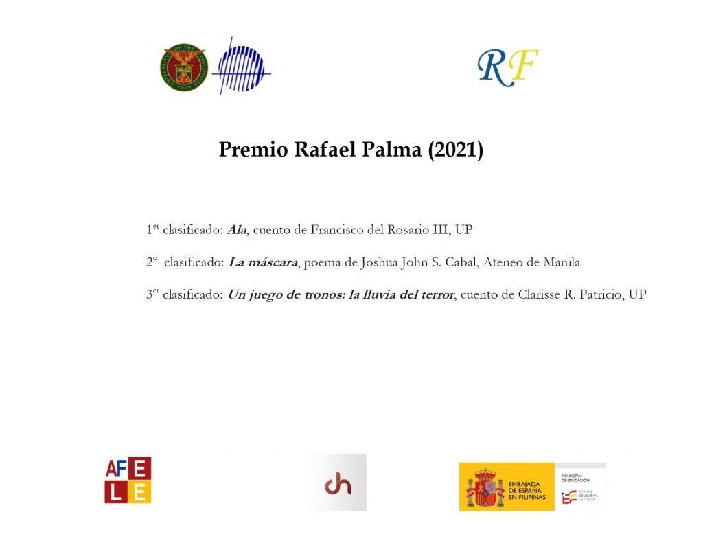 Winners of the Premio Rafael Palma 2021