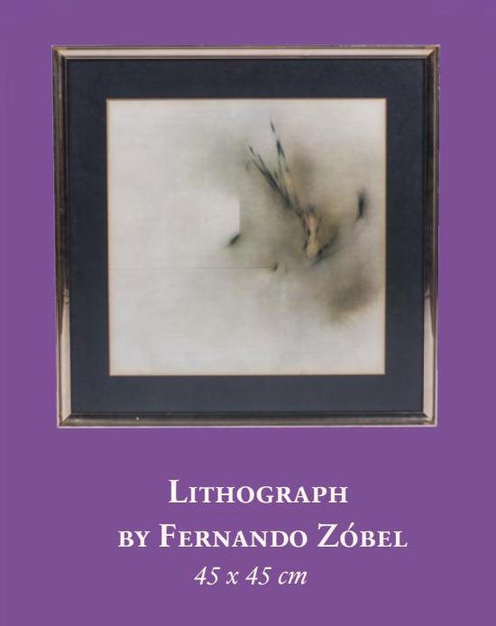 Litograph by Fernando Zobel