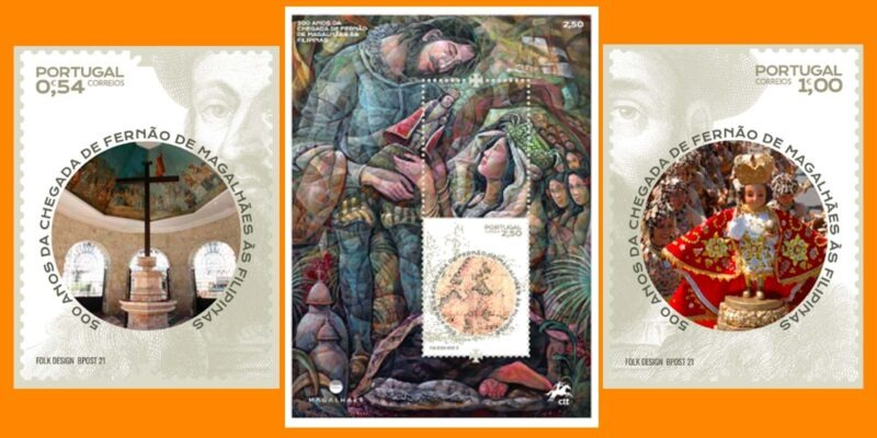 Portugal's National Postal Service Issues Philippine Quincentennial Commemorations Stamps