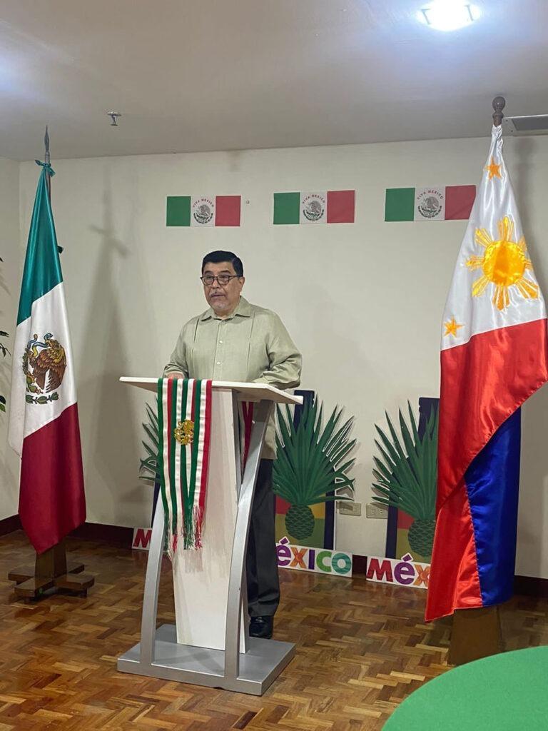 Mexican ambassador Gerardo Lozano Arredondo