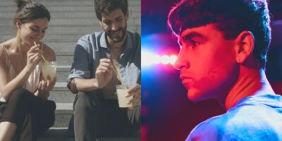 """Stills from """"Una vez más"""" and """"El cover"""""""