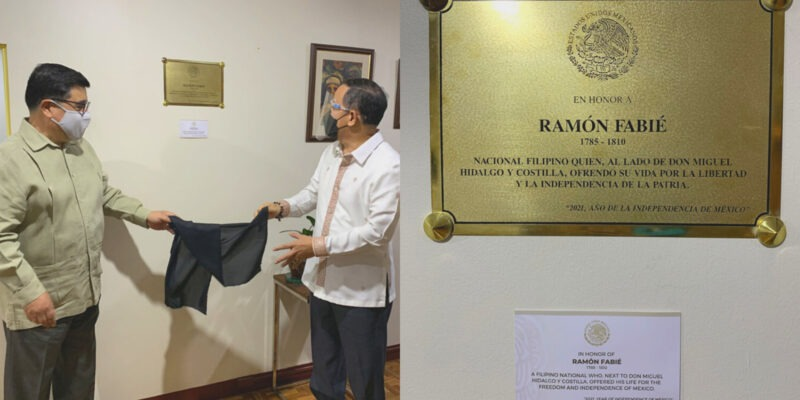 Mexican Embassy Unveils Commemorative Plaque to a Filipino Man Who Fought in the Mexican War of Independence