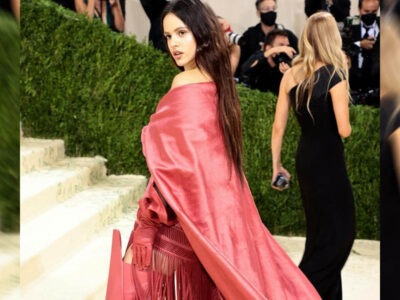 Rosalía at the Met Gala Red Carpet