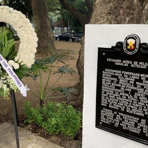 Historical Marker Commemorating Mexico's 201st Fighter Squadron Unveiled at Galleon Day